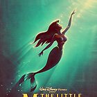 The Little Mermaid Movie Poster by GiraffesAreCool