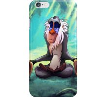 Rafiki Meditating iPhone Case/Skin