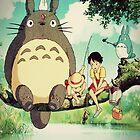 "My Neighbor Totoro ""Family Photo"" by GiraffesAreCool"