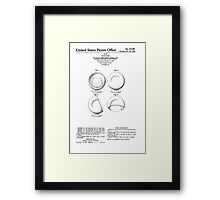 Eero Aarnio - Ball Chair - Patent Artwork Framed Print