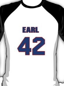 National baseball player Earl Wilson jersey 42 T-Shirt