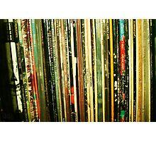 vinyl life Photographic Print
