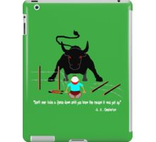 Sound Advice About Fences iPad Case/Skin