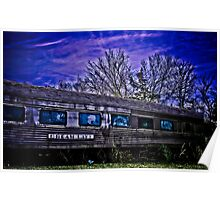 Train photograph Dream Lake Poster
