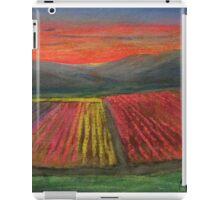 Tulip Fields at Sunset iPad Case/Skin