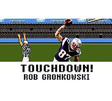 Tecmo Bowl Touchdown Rob Gronkowski Photographic Print