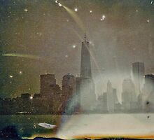 1World Trade Center Tintype Photograph by ShellyKay