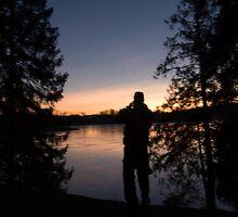Sunset Man by terjekj