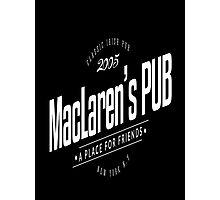 MacLaren's Pub Photographic Print
