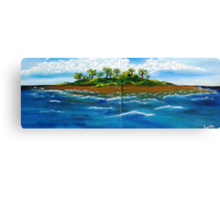 My Lil Island Canvas Print