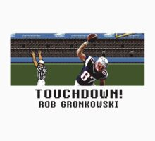 Tecmo Bowl Touchdown Rob Gronkowski by av8id