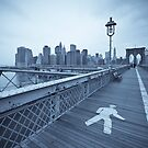 Brooklyn Bridge over East River. New York City. (Alan Copson ©) by Alan Copson
