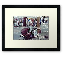 Downtown Sao Paulo, Brazil - 1982 (5) Framed Print