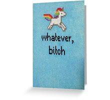 Unicorn Lyfe Greeting Card