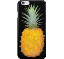 Sweet yellow pineapple in watercolor iPhone Case/Skin