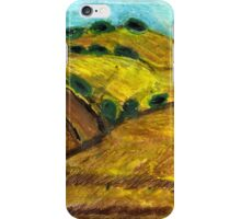 California Hills In Summer(Fields Of Gold) iPhone Case/Skin