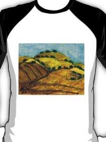 California Hills In Summer(Fields Of Gold) T-Shirt