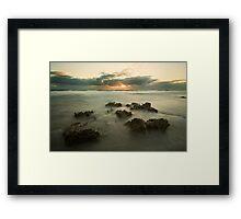 Cottesloe Washout 2 Framed Print