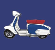 SX200 Dealership Blue Scooter Design by Anthony Armstrong