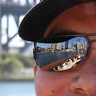 Sydney Harbour through the eyes of eyes by indiafrank