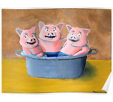 Pigs in a Tub Poster