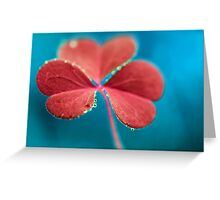 You turn my heart every which way. Greeting Card