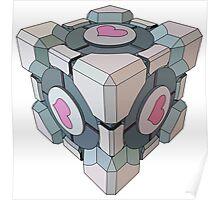 companion cube Poster