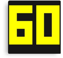 60 FPS PC MASTER RACE Canvas Print