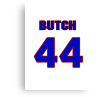 National baseball player Butch Huskey jersey 44 Canvas Print