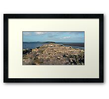 To Cramond Island Framed Print