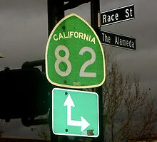 Race St. and The Alameda by Jamie Tucker