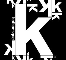 KAFKAESQUE (BLACK) by THEUSUALDESIGN
