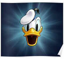 Donald Duck Poster