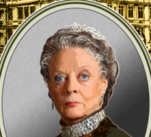 Lady Violet Crawley, Dowager Countess - Downton Abbey Sticker