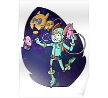 Space Cadet Emily Poster