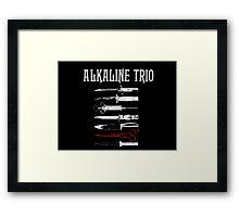 Alkaline Trio - Band Framed Print