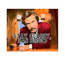 Anchorman -  STAY CLASSY, SAN DIEGO by paradossi