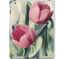 Twin Tulips in Pastel Pink iPad Case/Skin