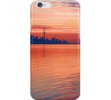 Brilliant Colorful Morning - Toronto Skyline Impressions iPhone Case/Skin