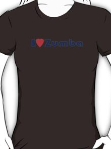 I Zumba T-Shirt ~ I Love Zumba Heart Phone Case T-Shirt