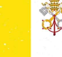 Flag of Vatican Sticker