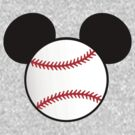 Baseball with mouse ears by sweetsisters
