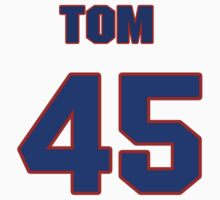 National baseball player Tom Edens jersey 45 by imsport