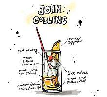 Cocktail - John Collins Recipe by ccorkin