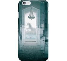 Ice Unicorn Icehotel Jukkasjärvi, in northern Sweden iPhone Case/Skin