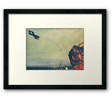 Air fighter Framed Print