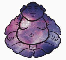 Buddha Galaxy Trippy by Jason Levin