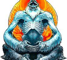 psychic yeti by kgbigelow