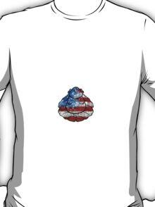 Buddha American Flag T-Shirt