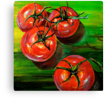 Tomatoes... Canvas Print